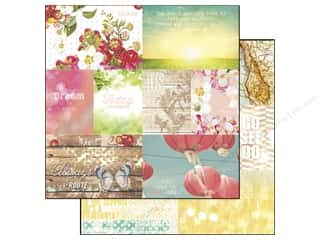 "Blue Meadow Designs: Webster's Pages Strawberry Fields Collection Paper 12""x 12"" Storyteller Sheet 1 (25 sheets)"