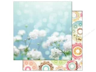"Blue Meadow Designs: Webster's Pages Nest Collection Paper 12""x 12"" Life's Fabric (25 sheets)"