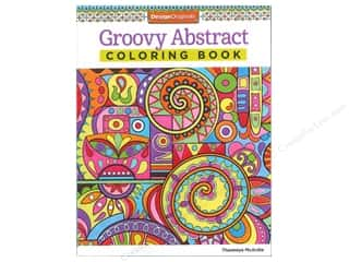 Activity Books / Puzzle Books: Design Originals Groovy Abstract Coloring Book