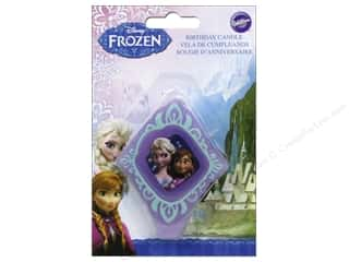 Wilton Decorations Birthday Candle Disney Frozen