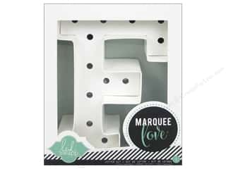 "American Crafts Heidi Swapp Marquee Love Letter Kit 8 1/2 in. ""F"" Picture"