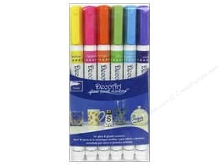 Weekly Specials DecoArt Glass Paint Marker: DecoArt Glass Paint Marker Brights 1mm