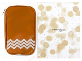 Craft Mates: Webster's Pages Color Crush CraftMate Folio Caramel