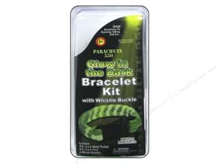 Pepperell Parachute Cord Accessories Bracelet Kit Glow In The Dark