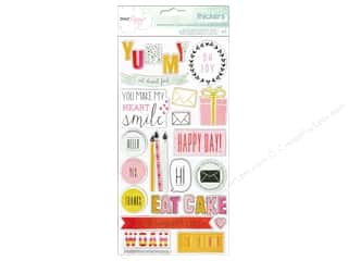 phrase stickers: American Crafts Thicker Stickers Dear Lizzy Fine & Dandy Phrases & Accents