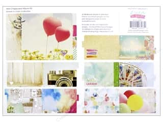 Chipboard Albums: Webster's Pages Dream In Color Collection Chipboard Album