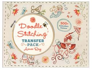 needlework book: Lark Doodle Stitching Transfer Pack Book