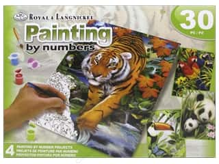 Holiday Gift Ideas Sale Kids Crafts: Royal Paint By Number Activity Set Tropical Life