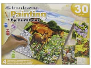 Holiday Gift Ideas Sale Kids Crafts: Royal Paint By Number Activity Set Farm Life
