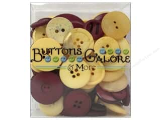 Buttons Galore & More: Buttons Galore  Button Totes 3.5 oz. Crimson & Gold