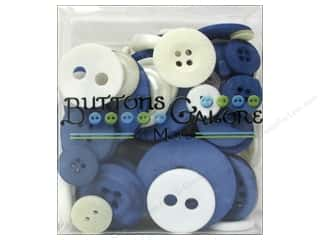 Buttons Galore & More: Buttons Galore Button Totes 3.5 oz. Blue & White