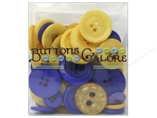 Buttons Galore Button Totes 3.5 oz. Purple & Gold