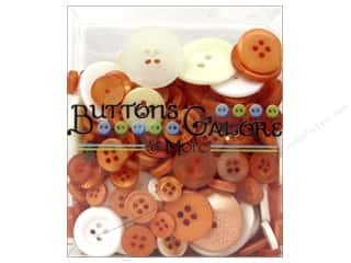 Buttons Galore & More: Buttons Galore Button Totes 3.5 oz. Orange & White