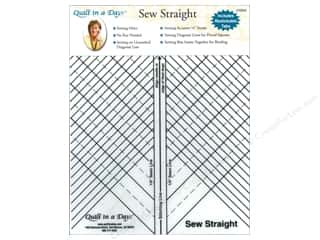Quilting Templates / Sewing Templates: Quilt In A Day Rulers Sew Straight