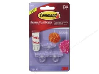 Command Adhesive: Command Adhesive Hook Party Ceiling 3pc