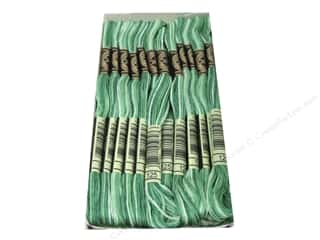 DMC: DMC Six-Strand Embroidery Floss #125 Varigated Seafoam Green (12 skeins)