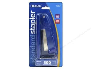 Staplers: Bazic Basics Standard Metal Stapler with 500 Staples