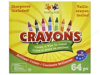 Crayons: Multicraft Krafty Kids Crayons With Sharpener