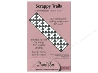 Pieceful Designs: Pieced Tree Tiny Scrappy Trails Pattern
