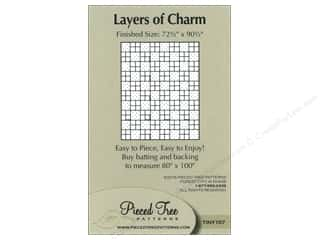 Pieceful Designs: Pieced Tree Tiny Layers Of Charm Pattern