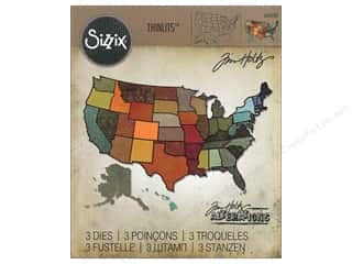 Sizzix: Sizzix Dies Tim Holtz Thinlits Set United States