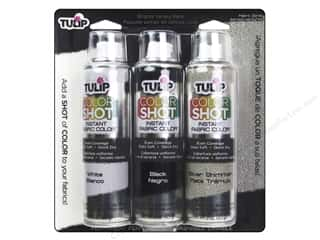 Tulip Color Shot Fabric Spray Paint Essentials 3 pc.