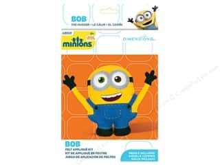 weekly specials Dimensions Applique Kit: Dimensions Applique Kit Felt Minions Bob