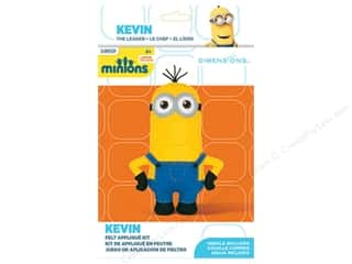 weekly specials Dimensions Applique Kit: Dimensions Applique Kit Felt Minions Kevin