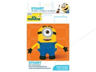 weekly specials Dimensions Applique Kit: Dimensions Applique Kit Felt Minions Stuart