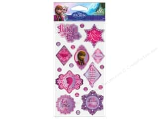 phrase stickers: EK Disney Sticker Epoxy Phrases Anna