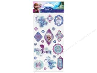 phrase stickers: EK Disney Sticker Epoxy Phrases Elsa