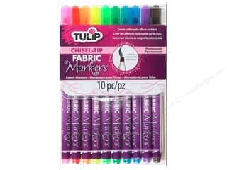 Tulip Fabric Marker Chisel Tip 10pc Picture