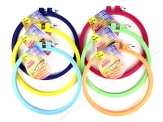 hoops > quilting hoops: Susan Bates Hoop-La Embroidery Hoops 6 in. 1 pc.