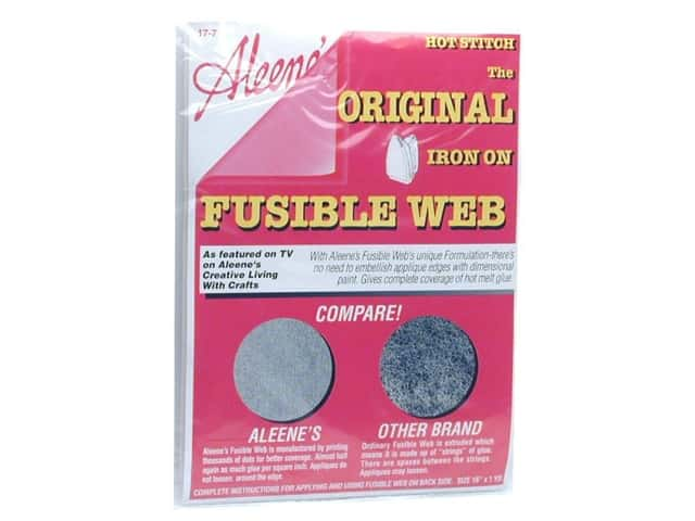 Aleene's Hot Stitch Fusible Web 16 in. x 1 yd. (3 packages)