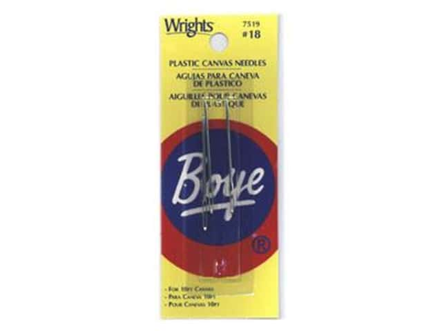 Boye Yarn Accessories Needle Plastic Canvas #18
