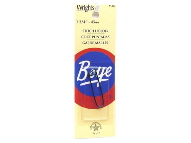 Boye Yarn Accessories Aluminum Stitch Holder 1.75""
