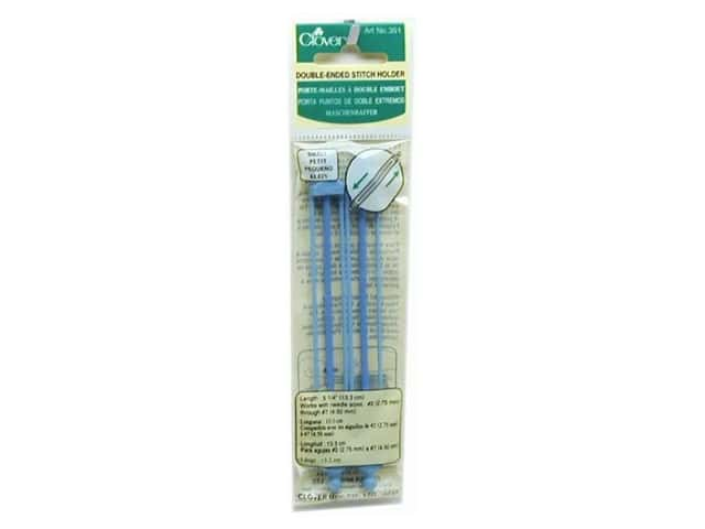 Clover Stitch Holder Double End Small 2 pc