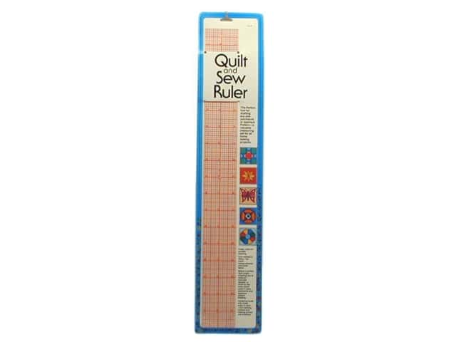 Quilt & Sew Ruler by Collins 2 x 18 in.