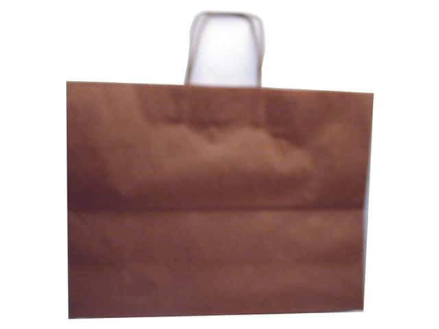 "DMD Bag Vogue 15.5x12x6"" Kraft (6 pieces)"