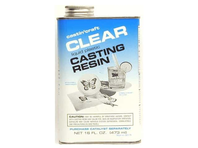 Castin 39 craft casting resin without catalyst 16 oz for Castin craft clear resin