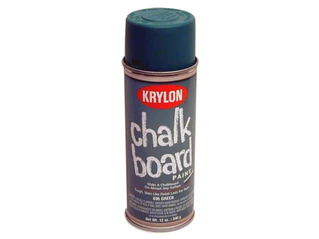 Krylon Chalk Board Paint 12 oz Green