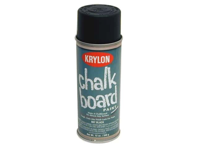 Krylon Chalk Board Paint 12 oz Black