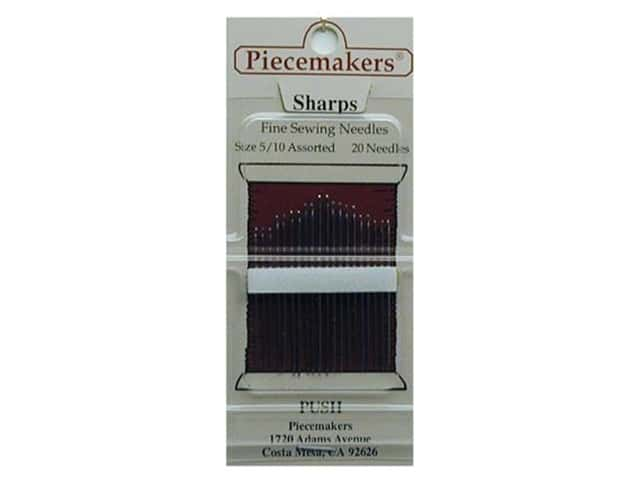 Piecemakers Specialty Needles Sharp Size 5/10 (3 packages)