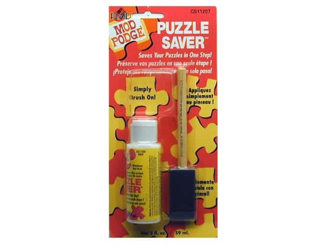 Plaid Mod Podge Puzzle Saver 2 oz.