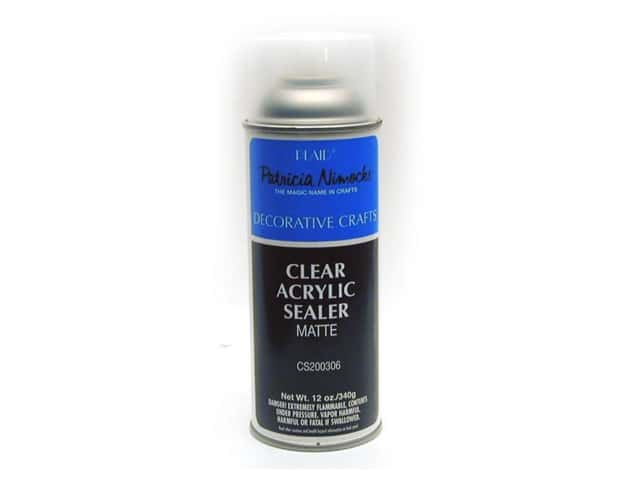Plaid Spray Sealer Patricia Nimocks Acrylic Matte 12 oz