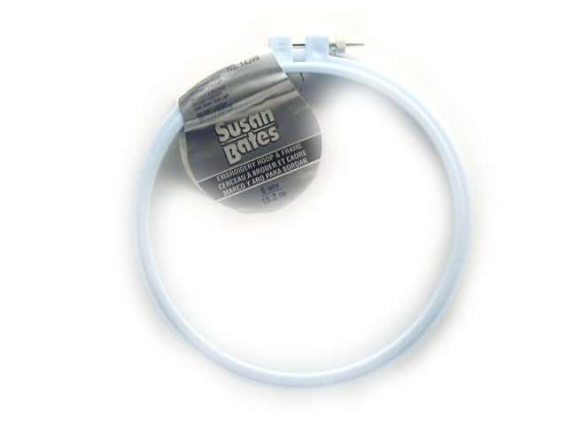 Bates Embroidery Hoops Luxite Blue 6""