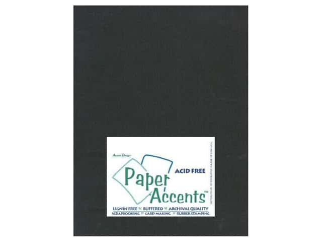 Cardstock 8 1/2 x 11 in. #508 Columns Black by Paper Accents (25 sheets)