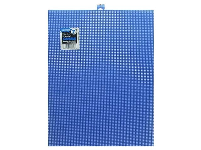 Darice Plastic Canvas #7 Mesh 10 1/2 x 13 1/2 in. Dark Blue Rectangle (12 sheets)