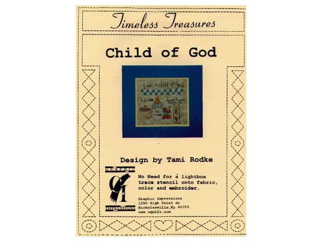 Graphic Impressions Timeless Treasures Stencil Child of God