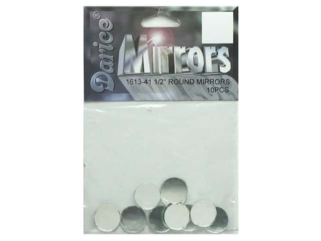 "Darice Mirrors Round .5"" 10pc (3 packages)"